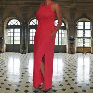 Calvin Klein coral colored dress. NWT